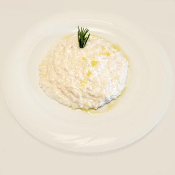 risotto salsa de quesos